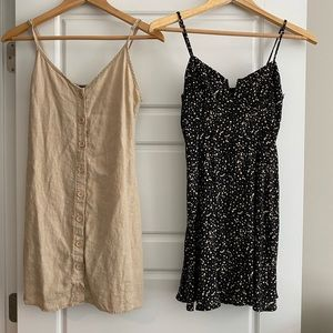 Two Forever 21 mini dresses size small
